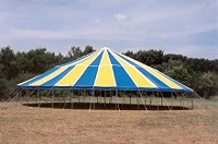 Choosing between our 14 oz, 16 oz and  18 oz round & oval event tents