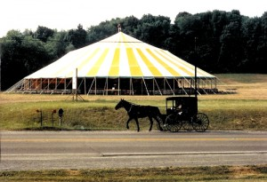 125' x 197'oval tent