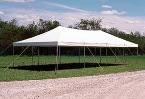20' x 40' rectangle tent