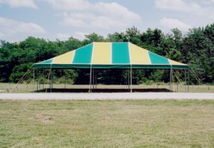 30' x 40' rectangle tent