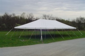 30' x 50' rectangle tent