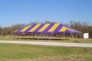 30' x 60' rectangle tent