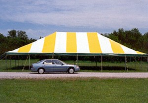 40' x 60' rectangle tent