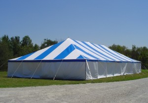 40' x 80' rectangle tent