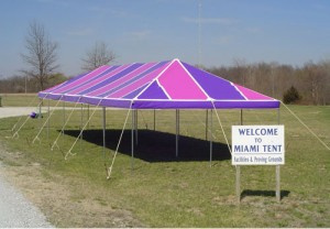 20' x 50' rectangle tent