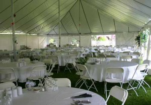 40' x 100' rectangle tent